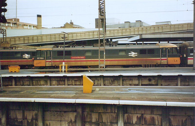 87024 'Lord of the Isles' at London Euston, 30th January 1988 - Gavin Judd image used with permission