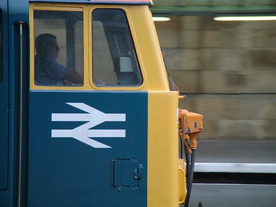 87002 passing through Carlisle, 28th July 2009