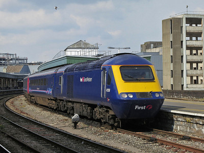 43158, Bristol Temple Meads, on rear of 1A25 16.30 to London Paddington - 30/04/14.