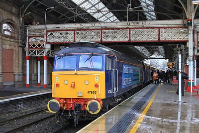 47853, Preston, 2Z09 11.37 Additional ex Manchester Victoria - 13/12/14.