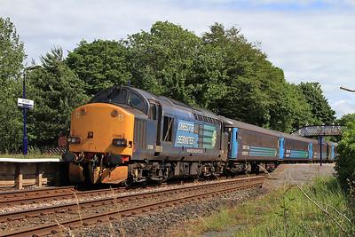37606, Arnside, on rear of 2C48 11.56 Carlisle-Lancaster - 04/07/15.
