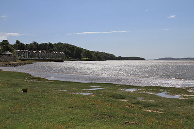 Sun on the water at Arnside - 04/07/15.