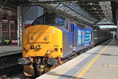 37419, Preston, on rear of 2C47 10.04 to Barrow - 12/06/15.