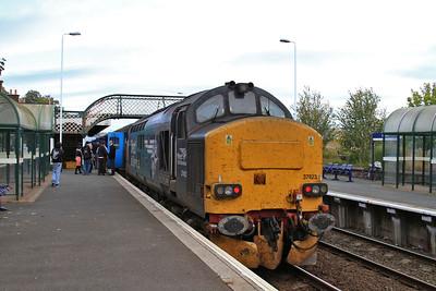 37423, Millom, on rear of 2C40 08.42 Carlisle-Barrow - 17/10/15.