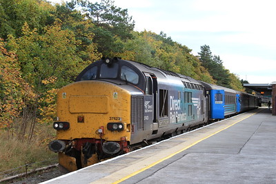37423, Barrow, 2C45 11.38 to Carlisle - 17/10/15.