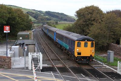 37423 arr St. Bees, on rear of 2C34 14.33 Carlisle-Barrow - 17/10/15.