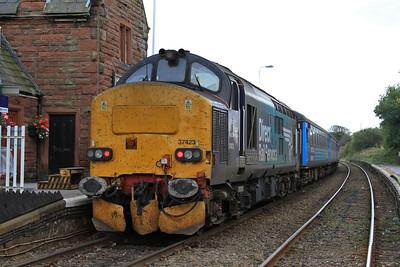 37423, St. Bees, on rear of 2C34 14.33 Carlisle-Barrow - 17/10/15.