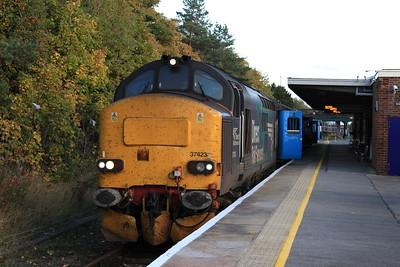 37423, Barrow, 2C47 17.31 to Carlisle - 17/10/15.