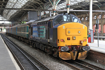 37419, Preston, on rear of 2C47 10.04 to Barrow - 19/06/15.