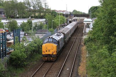 37419 arr Millom, on rear of 2C41 14.37 Barrow-Carlisle - 19/06/15.