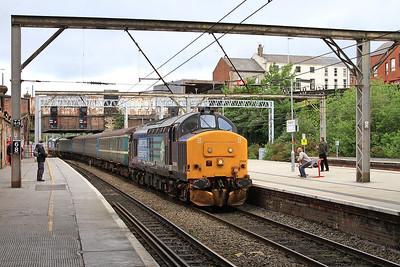 37419 (37409 rear) arr Preston, 2C32 05.15 ex Carlisle - 19/06/15.