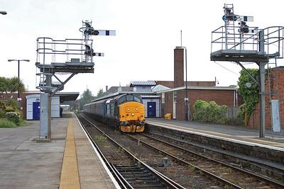 37409 (37419 rear), Barrow, 2C47 10.04 ex Preston - 19/06/15.
