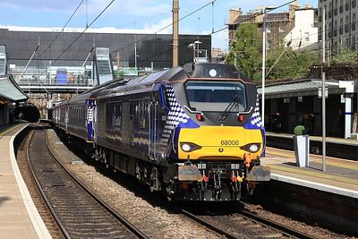 68006, Haymarket, 2G13 17.08 Edinburgh-Glenrothes with Thornton - 11/05/15.