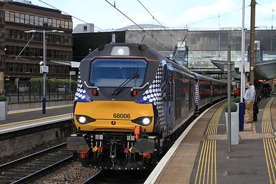 68006, Haymarket, 2G13 17.08 Edinburgh-Glenrothes with Thornton - 12/05/15.