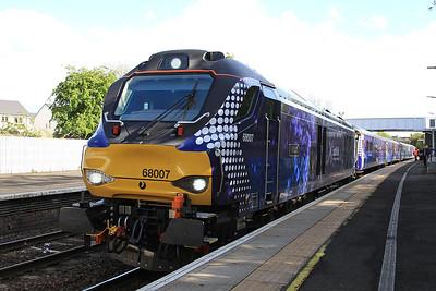 68007, Inverkeithing, 2L69 17.20 Edinburgh-Cardenden - 11/05/15.