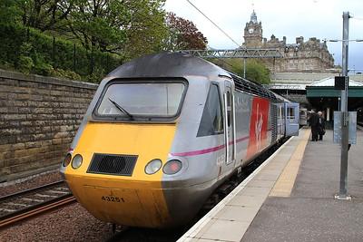 43251, Edinburgh Waverley, on rear of 1E23 13.47 Aberdeen-Kings Cross - 10/05/15.