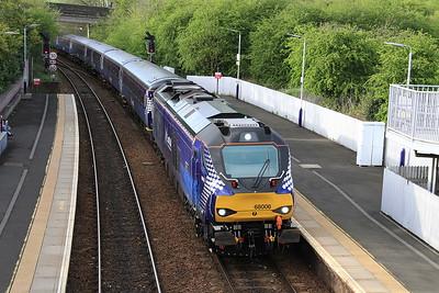 68006 arr Inverkeithing, 2K14 18.14 Glenrothes with Thornton-Edinburgh - 11/05/15.