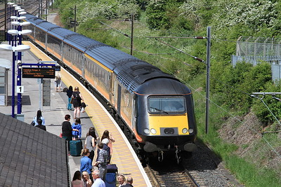 Grand Central HST's, 23rd May 2015