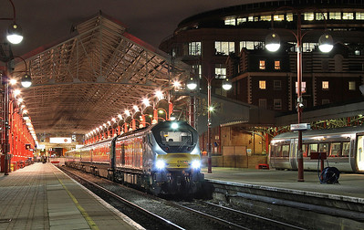68010, Marylebone, 1U50 17.21 to Banbury - 16/12/15.