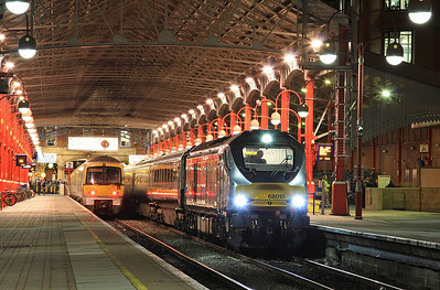 68010, Marylebone, 1U50 17.21 to Banbury - 16/12/15.
