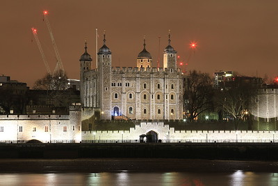 Tower of London by night - 16/12/15.
