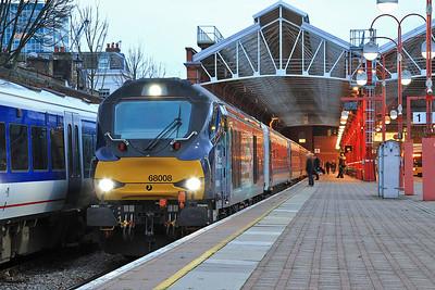 68008, Marylebone, 1K45 16.15 to Kidderminster - 18/12/15.