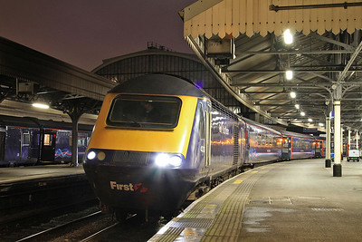 43131, Paddington, 1W08 18.22 to Hereford - 14/12/15.