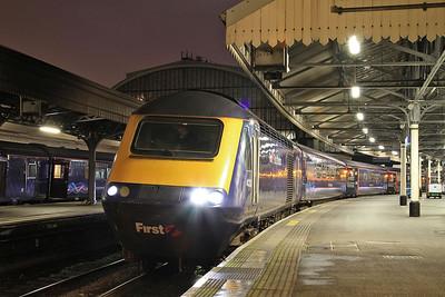 43131, Paddington, 1W08 18.22 to Hereford - 14/12/15.