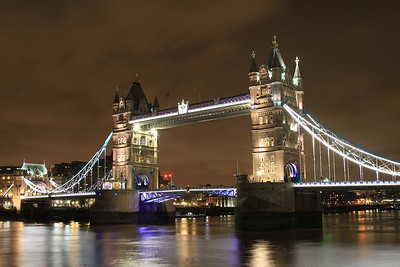 Tower Bridge by night - 16/12/15.