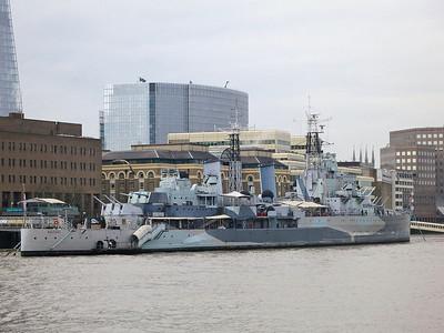 HMS Belfast - 14/12/15.