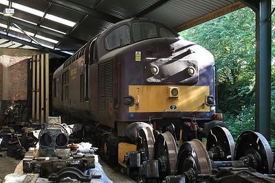 37676 (Stored) inside the diesel depot - 15/07/15.