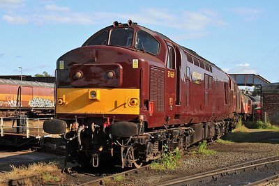 37669 in the yard outside the diesel depot - 15/07/15.