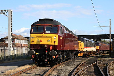 47802 / 37518 / 47832  in the yard outside the diesel depot - 15/07/15.
