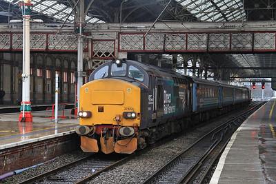 37423 (37259 rear), Preston, 2C47 10.04 to Barrow - 17/02/16.