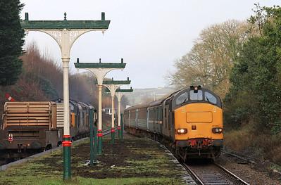 Cumbrian 37's - 37259 on 2C32, 19th February 2016