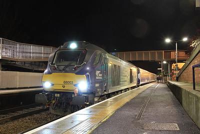 68003, Inverkeithing, 2L69 17.20 Edinburgh-Cardenden - 15/01/16.