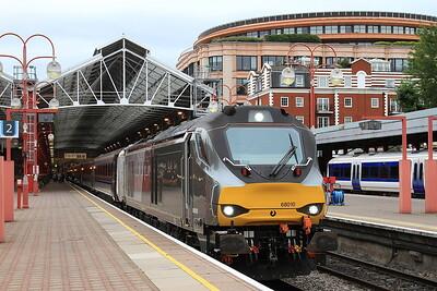 68010, London Marylebone, 1R53 18.10 to Birmingham Moor Street - 21/08/16.