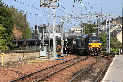 68021 arr Edinburgh Waverley, ECS for 2G13 17.08 to Glenrothes With Thornton - 06/06/16.
