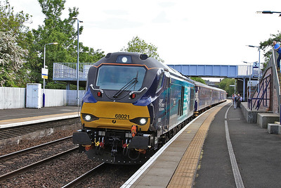 68021, Inverkeithing, 2G13 17.08 Edinburgh-Glenrothes With Thornton - 06/06/16.