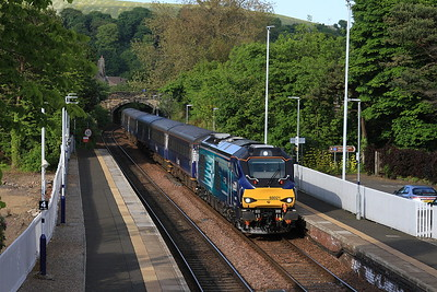 68021 & 68025 on Fife Commuters, 6th June 2016
