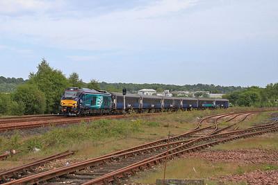 68025 dep Inverkeithing, 2L69 17.20 Edinburgh-Cardenden - 06/06/16.