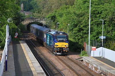 68021 arr Aberdour, 2K14 18.15 Glenrothes With Thornton-Edinburgh - 06/06/16.