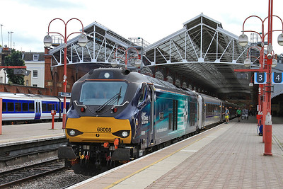 68008, London Marylebone, 1R33 13.10 to Birmingham Moor Street - 08/07/16.