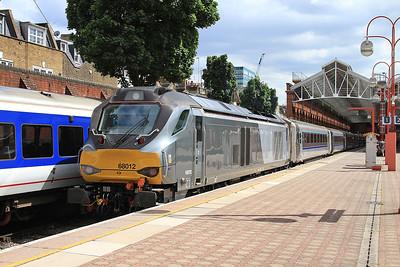 68012, London Marylebone, 1H45 12.55 ex Birmingham Moor Street - 05/07/16.