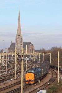 37716 (37423 rear) arr Preston, 2C32 05.15 ex Carlisle - 12/02/16.