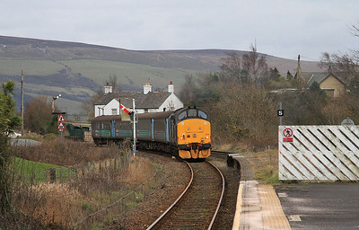 37425 dep Foxfield, 2C34 14.35 Carlisle-Barrow - 04/03/16.