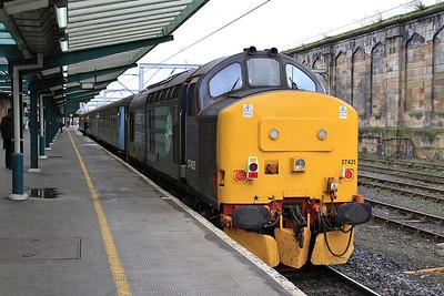 37425, Carlisle, 2C34 14.35 to Barrow - 04/03/16.