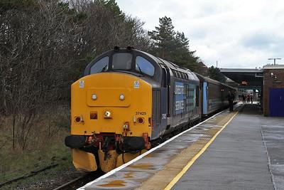 37425, Barrow, 2C49 11.38 to Carlisle - 04/03/16.