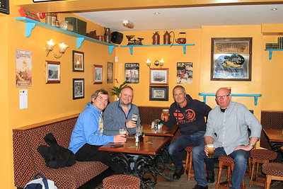 The posse in the Lifeboat Inn, Maryport - 18/11/16.