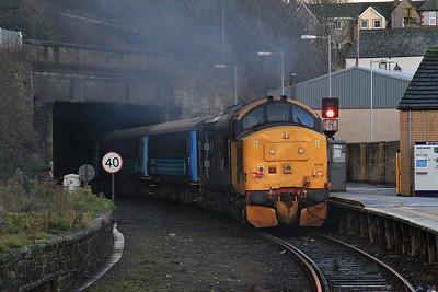 37401 dep Whitehaven , 2C40 08.42 Carlisle-Barrow - 19/11/16.